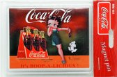 Koelkast Magneet Coca Cola - Betty Boop