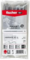 Fischer kozijnplug FUR 10X80 T B  KLVP (10x) 062600