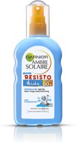 Garnier Ambre Solaire Kids Gekleurde Zonnespray SPF 50+ - 200 ml - Zonnebrand spray