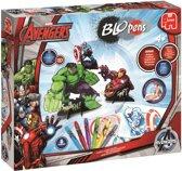 Blopens Marvels Avengers Set – 38x28x6cm   Kleuren en Tekenen   Superhelden Knutselset voor Kinderen