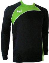 KWD Keepershirt Primero - Zwart/groen - Maat L