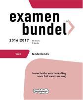 Examenbundel vwo Nederlands 2016/2017