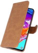 Samsung galaxy a7 20150 Bruin | bookstyle / book case/ wallet case Wallet Case Hoesje  | WN™
