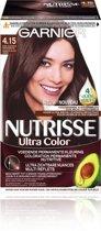 Garnier Nutrisse Ultra Color 4.15 - Kastanje Bruin - Haarverf