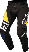 Alpinestars Crossbroek Techstar Factory Black/Dark Blue/White/Fluor Yellow-28