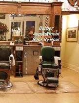 Barber Appointment Book By Hour: Hourly Appointment Book