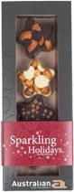 Australian Chocolade Kerststerren Noten Collectie - 6 x 100 gram