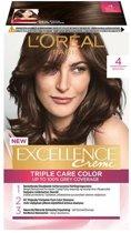 L'Oréal Paris Excellence Crème 4- Middenbruin - Haarverf