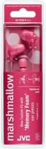 JVC HA-FX38-P JVC Marshmallow In-Ear Stereo Headphone Pink