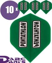 ABC Darts - pentathlon dartflights circuit board - 10 sets