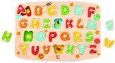 Hape Alfabet Vormenpuzzel