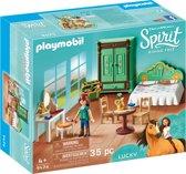 Afbeelding van PLAYMOBIL Luckys slaapkamer - 9476 speelgoed