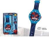 Muurklok - Spiderman 47 cm