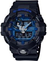 Casio GA-710-1A2ER horloge heren - zwart - kunststof