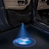Set van 2x Auto logo LED LIGHT deur projectors I Inclusief Batterijen I voor BMW
