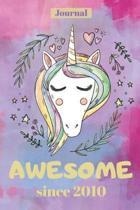 Unicorn Journal for 9 Year Old Girl