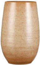 Mica Decorations emma vaas rond oker maat in cm: 35 x 22 opening 15cm