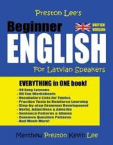 Preston Lee's Beginner English For Latvian Speakers (British Version)