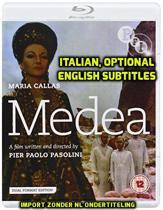 Medea (DVD + Blu-ray) [1969] by Maria Callas (import)