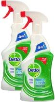Dettol Allesreiniger Spray Original - Maxi Pack - 2 x 750 ml