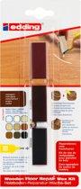 Edding 8902 houten vloeren-reparatiewas-set, mahoniehout, per stuk in blisterverpakking