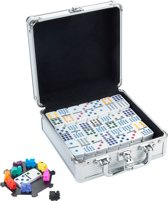 Longfield Games Domino D12 Mexican Train Aluminium Case