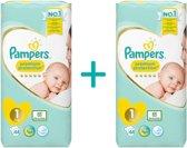 Pampers Premium protection Luiers - Maat 1 - 2 tot 5kg - 88 stuks