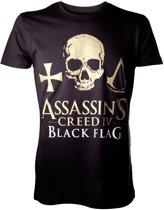 Assassin's Creed IV T-Shirt Zwart Maat S