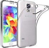 MMOBIEL Soft TPU Siliconen Hoesje - Case - Back Cover - Skin - Ultra Dunne en Transparante Bescherming voor Samsung Galaxy S5
