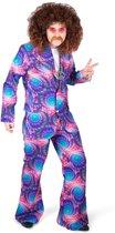 Psychedelisch disco kostuum voor mannen - Volwassenen kostuums
