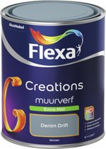 Flexa Creations - Muurverf Extra Mat - Denim Drift - 1 liter