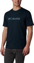 Columbia CSC Basic Logo  Short Sleeve Heren Outdoorshirt - Night Shadow - XXL