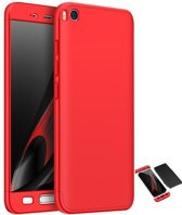 Teleplus Xiaomi Mi 5 S 360 Full Protected Cover Red