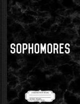 Sophomores Composition Notebook