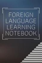 Foreign Learning Language Notebook