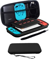 Bescherm Case Hard Cover Hoesje Geschikt voor Nintendo Switch - Zwart