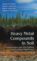 Heavy Metal Compounds in Soil