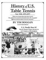 History of U.S. Table Tennis Volume 8