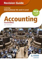 Cambridge International AS/A level Accounting Revision Guide 2nd edition