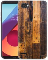 LG Q6 Hoesje Special Wood
