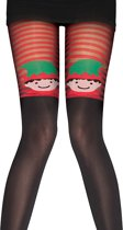 PPretty...Elves kerst Panty one size