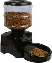 Lovely Pets™ Slimme - automatische - voerbak voor katten en honden - voerautomaat - kattenvoerbak - hondenvoerbak - 5,5L droogvoer - automatisch programmeerbaar - instelbaar voedingsschema - boodschap inspreken