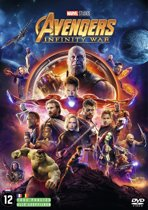 DVD cover van The Avengers: Infinity War