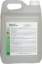 LAMOX Groene aanslagreiniger / Groene aanslagverwijdering / Algenkiller, 5 Lt