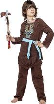 Indiaan kostuum chief luxe voor kind maat 140