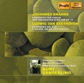 Beethoven/Brahms Sanderling 2-Cd