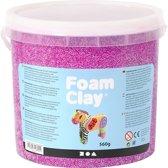Foam Clay, 560 gr, neon paars