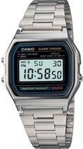 Casio Collection A158WA-1CR - Horloge - Staal - Zilverkleurig