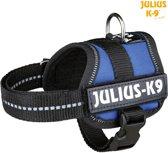 Julius K9 IDC Powertuig/Harnas - Baby 1/30-40cm - XXXS - Blauw
