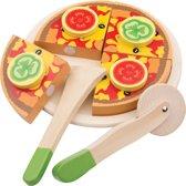 "New Classic Toys - Speelgoed Snijset - Pizza ""Groente"""